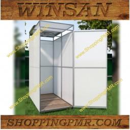 Садовый душ с тамбуром WinSan