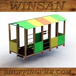 Игровой домик-навес ID1235