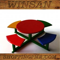 Столик со скамейками ss1001