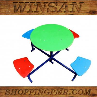 Столик со скамейками ss1301