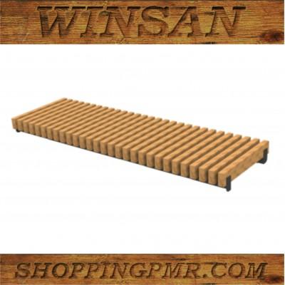 Парковая скамейка на бетон SKV_1010800