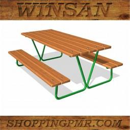 Стол со скамейками stol_16