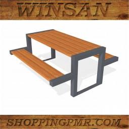 Стол со скамейками stol_198