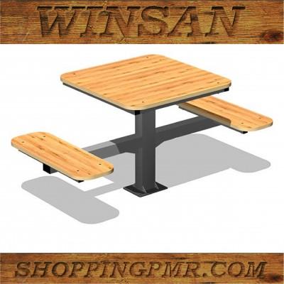 Стол со скамейками stol_241