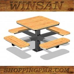 Стол со скамейками stol_242