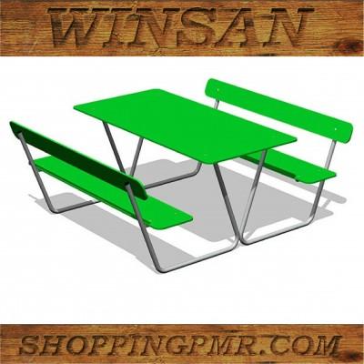 Стол со скамейками stol_243