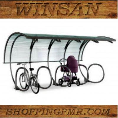 Парковка для колясок и велосипедов vp_9886